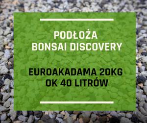 Podłoże do bonsai-terramol (kicidama, euroakadama) 20kg  (3-6mm)
